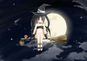 Rating: Safe Score: 19 Tags: halloween tagme tail witch User: fairyren