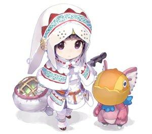 Rating: Safe Score: 54 Tags: chibi monster_hunter shirabi User: Akio-sama