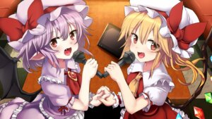 Rating: Safe Score: 14 Tags: flandre_scarlet noa_(nagareboshi) pointy_ears remilia_scarlet touhou wings User: Mr_GT