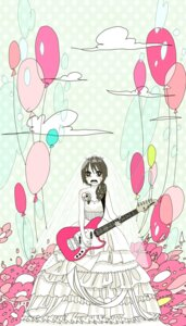 Rating: Safe Score: 4 Tags: dress guitar miya_(aes) wedding_dress User: charunetra