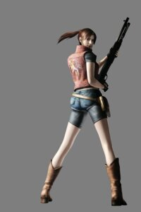 Rating: Safe Score: 25 Tags: bike_shorts cg clair_redfield gun resident_evil transparent_png User: Radioactive