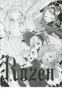 Rating: Safe Score: 5 Tags: gothic_lolita hina_ichigo kanaria kirakishou lolita_fashion monochrome rozen_maiden shinku tsukigami_luna User: Radioactive