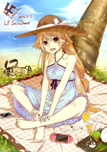 Rating: Safe Score: 49 Tags: dress feet lf summer_dress User: KazukiNanako