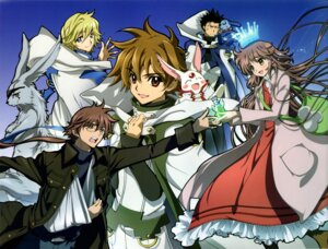 Rating: Safe Score: 15 Tags: bleed_through dress fai_d._flourite fujimoto_kiyokazu ginsei hanato_kobato ioryogi kobato kurogane li_syaoran mokona scanning_artifacts tsubasa_reservoir_chronicle User: animeprincess