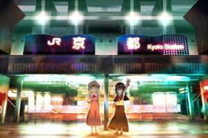 Rating: Safe Score: 17 Tags: dress landscape maribel_han shinta touhou usami_renko User: Minacle