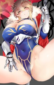 Rating: Questionable Score: 49 Tags: armor artoria_pendragon_(lancer) cleavage fate/grand_order leotard marushin weapon User: Mr_GT