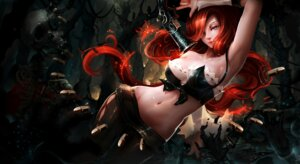 Rating: Questionable Score: 54 Tags: 17711 bra cleavage gun league_of_legends miss_fortune pantyhose User: mash