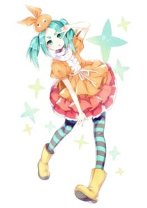 Rating: Safe Score: 26 Tags: bakemonogatari dress ononoki_yotsugi pantyhose wasabi_(artist) User: 死神