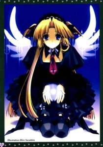 Rating: Safe Score: 11 Tags: lolita_fashion suzuhira_hiro wings User: Radioactive
