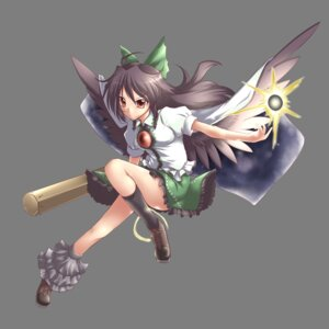 Rating: Safe Score: 11 Tags: reiuji_utsuho touhou transparent_png wings yoshi_tama User: charunetra