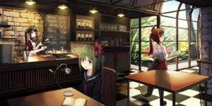 Rating: Safe Score: 22 Tags: horns natori_youkai seifuku tail waitress User: BattlequeenYume