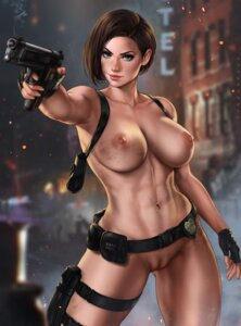 Rating: Explicit Score: 25 Tags: dandon_fuga garter gun jill_valentine naked nipples pussy resident_evil uncensored User: BaldurAnthology