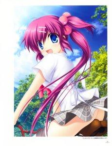 Rating: Safe Score: 6 Tags: hinoue_itaru key little_busters! saigusa_haruka seifuku skirt_lift User: marechal