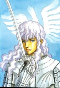 Rating: Safe Score: 3 Tags: berserk griffith male miura_kentarou sword User: Radioactive