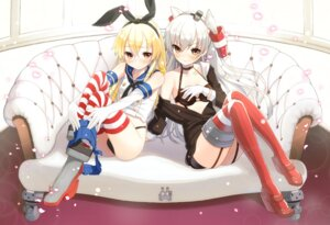 Rating: Questionable Score: 75 Tags: amatsukaze_(kancolle) atori_(at-yui) kantai_collection rensouhou-chan shimakaze_(kancolle) User: tbchyu001
