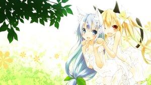 Rating: Safe Score: 26 Tags: animal_ears cleavage nekomimi saeki_thoma tail wallpaper User: fairyren