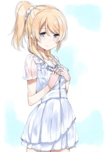 Rating: Safe Score: 35 Tags: ayase_eli love_live! nyoi_jizai see_through User: saemonnokami