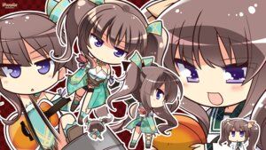 Rating: Safe Score: 14 Tags: chibi guitar hapymaher hirasaka_keiko komowata_haruka purple_software wallpaper User: Anonymous