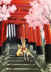 Rating: Safe Score: 12 Tags: animal_ears japanese_clothes kitsune kyo tail User: Radioactive