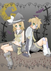 Rating: Safe Score: 6 Tags: kagamine_len kagamine_rin mochiduki_shinkuu vocaloid witch User: charunetra