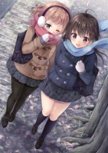Rating: Safe Score: 46 Tags: pantyhose sakurai_makoto seifuku User: Twinsenzw