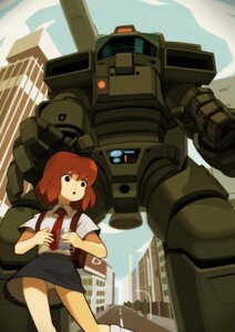 Rating: Safe Score: 5 Tags: mecha pantsu seifuku starship_troopers tomioka_jirou User: Radioactive