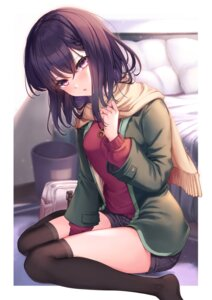 Rating: Questionable Score: 15 Tags: raika_(ry_raika) sweater thighhighs User: hiroimo2