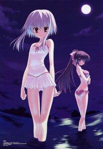 Rating: Safe Score: 31 Tags: bikini morimiya_aono nanao_naru shihou_matsuri sola swimsuits User: vita