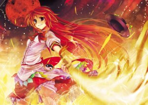 Rating: Safe Score: 17 Tags: hinanawi_tenshi scarlet_(studioscr) touhou User: fairyren