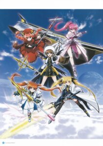 Rating: Safe Score: 11 Tags: fate_testarossa mahou_shoujo_lyrical_nanoha mahou_shoujo_lyrical_nanoha_strikers reinforce_zwei signum takamachi_nanoha vita yagami_hayate User: daemonaf2