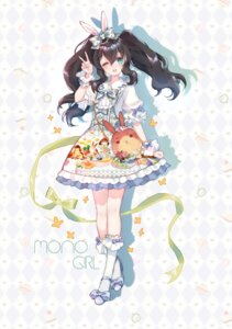 Rating: Safe Score: 17 Tags: animal_ears bunny_ears dress heels lolita_fashion silhouette yuzhi User: Mr_GT