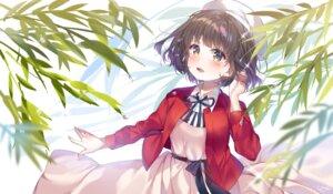 Rating: Safe Score: 18 Tags: dress katou_megumi saenai_heroine_no_sodatekata skirt_lift urim_(paintur) User: Mr_GT