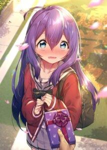 Rating: Safe Score: 32 Tags: mochizuki_anna seifuku shennai_misha sweater the_idolm@ster the_idolm@ster_million_live! User: Mr_GT