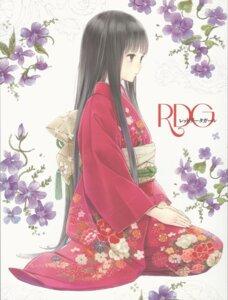 Rating: Safe Score: 59 Tags: kimono kishida_mel rdg:_red_data_girl suzuhara_izumiko User: Radioactive