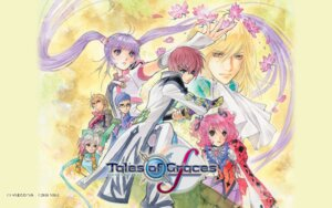 Rating: Safe Score: 16 Tags: asbel_lhant inomata_mutsumi richard sophie_(tog) tales_of tales_of_graces wallpaper User: snakey