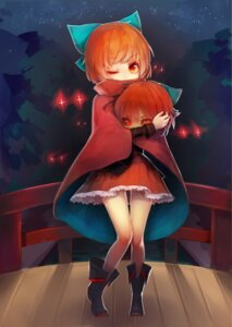 Rating: Safe Score: 18 Tags: keemoringo sekibanki touhou User: Mr_GT