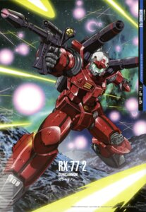 Rating: Safe Score: 9 Tags: gundam mecha mobile_suit_gundam mutaguchi_hiroki User: Radioactive