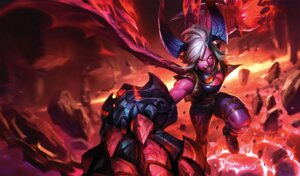 Rating: Safe Score: 18 Tags: cleavage horns league_of_legends tagme vi_(league_of_legends) wings User: Radioactive