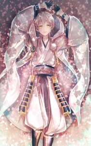 Rating: Safe Score: 6 Tags: abandon_ranka armor japanese_clothes male touken_ranbu tsurumaru_kuninaga User: charunetra