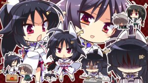 Rating: Safe Score: 12 Tags: chibi hapymaher hasuno_saki komowata_haruka purple_software sword wallpaper User: Anonymous
