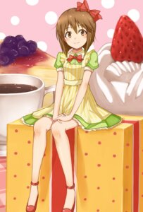 Rating: Safe Score: 17 Tags: hagiwara_yukiho the_idolm@ster wawa User: animeprincess