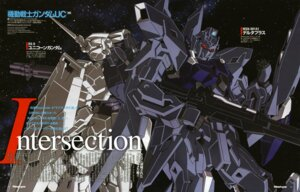 Rating: Safe Score: 6 Tags: delta_plus gun gundam gundam_unicorn mecha nakatani_seiichi unicorn_gundam User: Radioactive