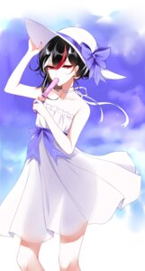 Rating: Safe Score: 21 Tags: dress horns kijin_seija see_through sheya summer_dress touhou User: Mr_GT