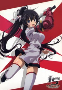 Rating: Safe Score: 26 Tags: armor infinite_stratos seifuku shinonono_houki skirt_lift sword tagme thighhighs User: DDD
