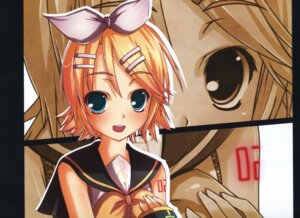 Rating: Safe Score: 4 Tags: kagamine_rin kouken vocaloid User: Akibarika