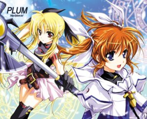 Rating: Safe Score: 15 Tags: fate_testarossa kanna mahou_shoujo_lyrical_nanoha mahou_shoujo_lyrical_nanoha_the_movie_1st plum takamachi_nanoha thighhighs User: blooregardo