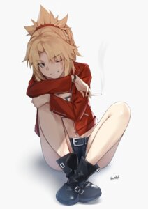 Rating: Safe Score: 7 Tags: bee_doushi bra fate/grand_order mordred_(fate) open_shirt tagme User: Dreista