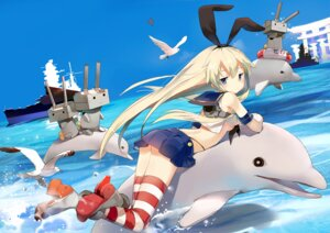 Rating: Questionable Score: 58 Tags: kantai_collection rensouhou-chan sheska_xue shimakaze_(kancolle) thighhighs User: blooregardo