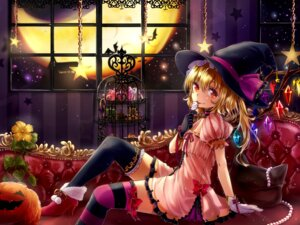 Rating: Safe Score: 49 Tags: dress flandre_scarlet halloween heels shironeko_yuuki thighhighs touhou wings witch User: Mr_GT