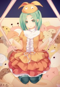Rating: Safe Score: 44 Tags: bakemonogatari dress mogu monogatari_(series) ononoki_yotsugi pantyhose User: SubaruSumeragi